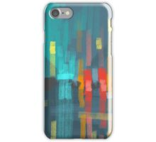 rain and city lights iPhone Case/Skin