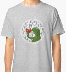 Kermit Sipping Tea (But that's none of my business) Classic T-Shirt