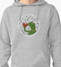 Kermit Sipping Tea (But that's none of my business) Pullover Hoodie