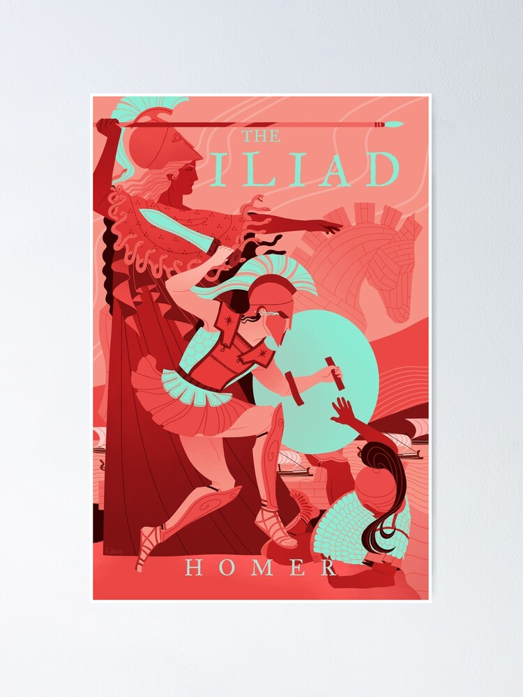 Alternate view of The Iliad Poster
