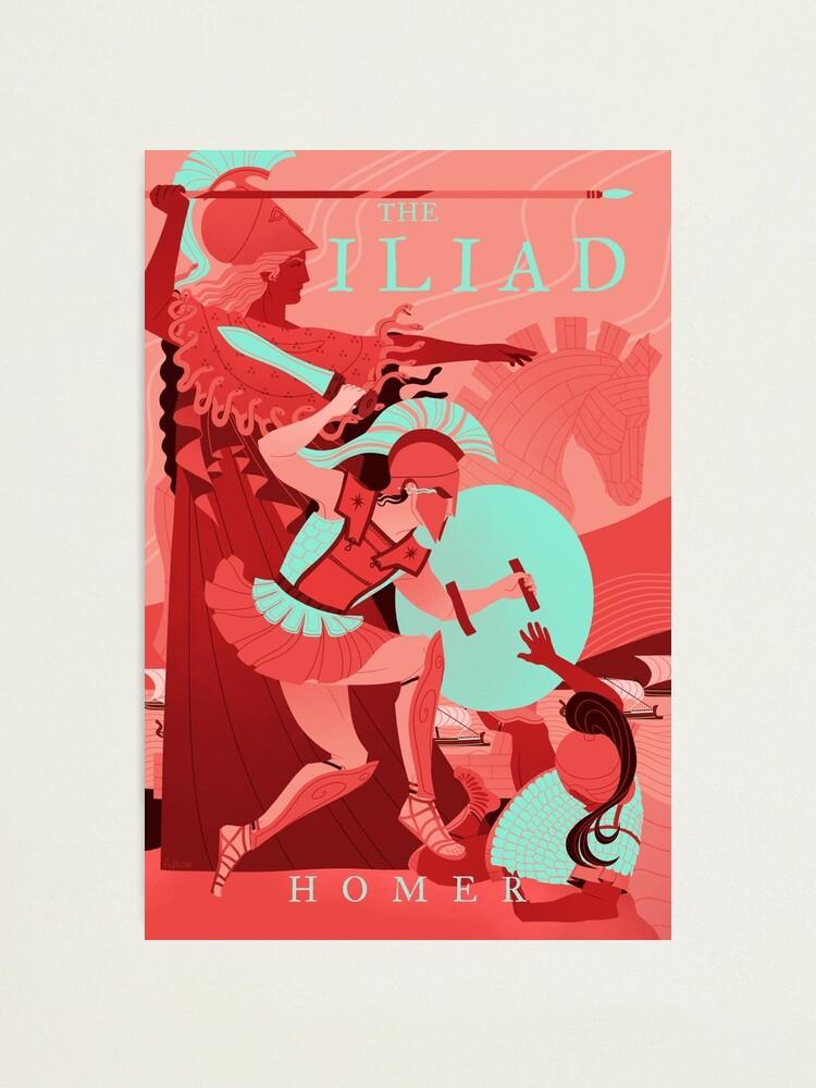 Alternate view of The Iliad Photographic Print