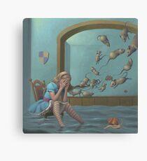 Alice's Pool of Tears Canvas Print