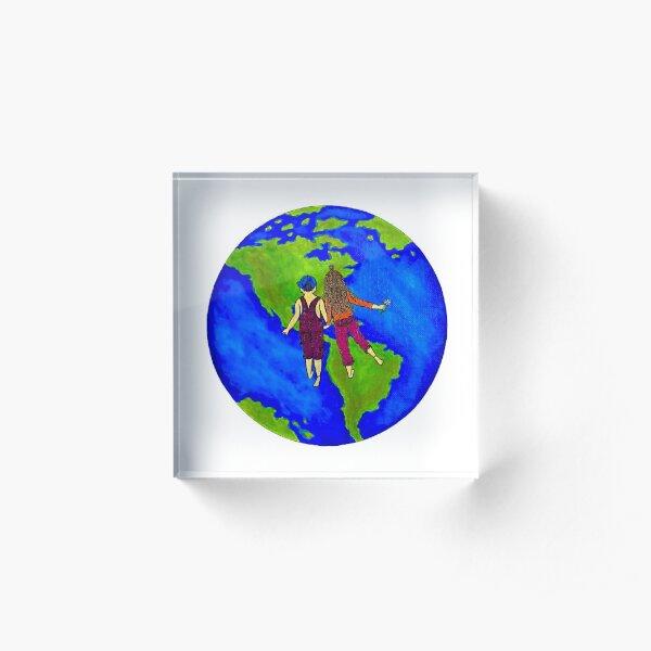 Children of the Earth Acrylic Block