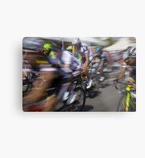 Bicycle race Metal Print