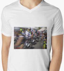 Bicycle race Men's V-Neck T-Shirt
