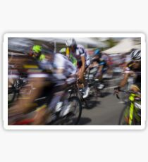 Bicycle race Sticker