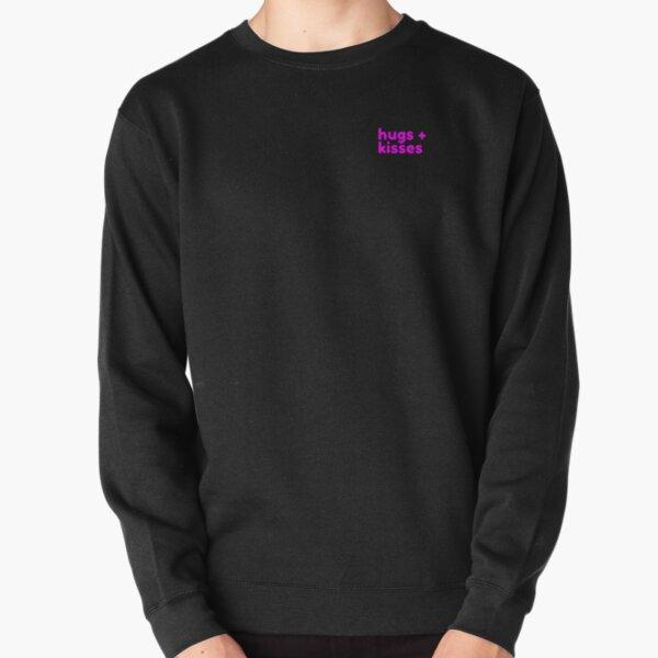Fuchsia Pink Pullover Sweatshirt