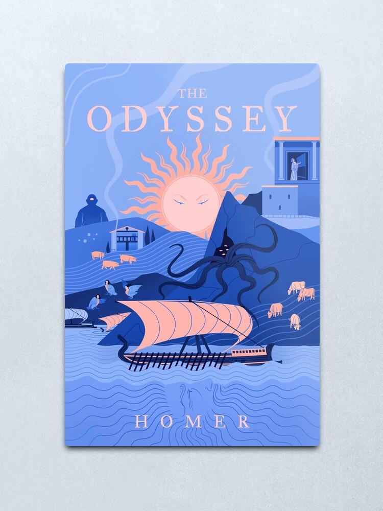Alternate view of The Odyssey Metal Print