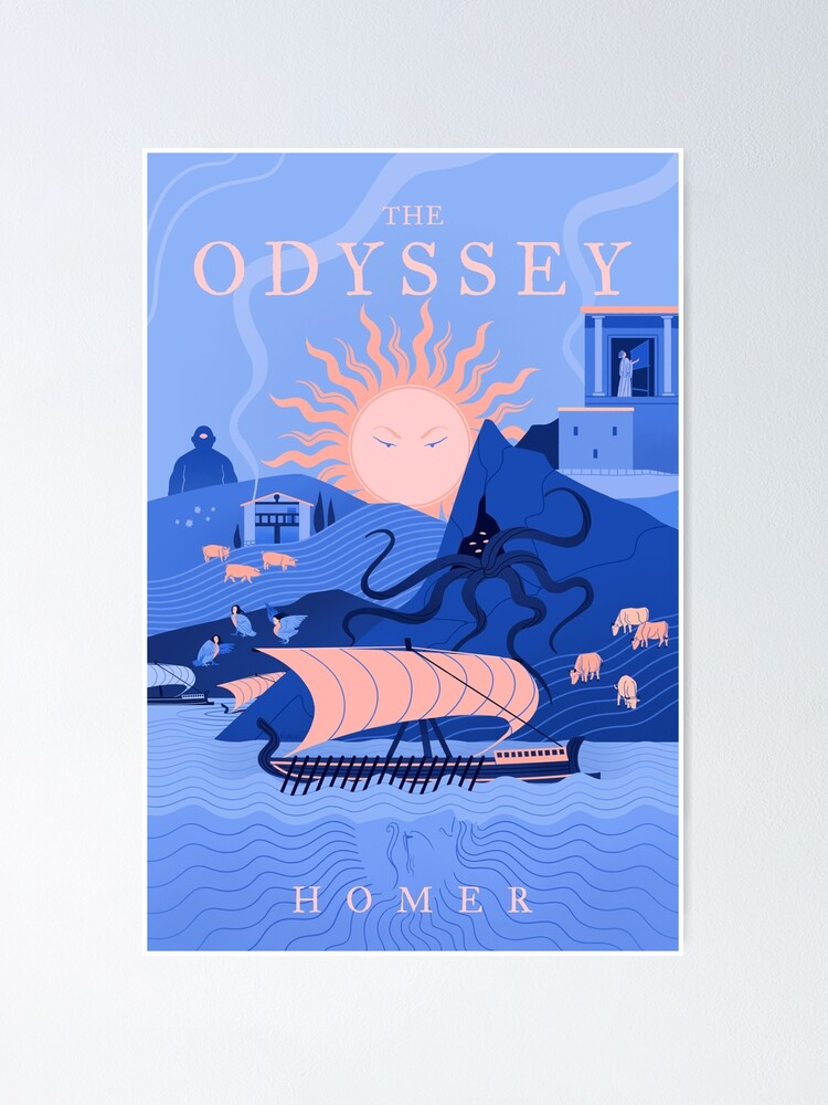 Alternate view of The Odyssey Poster