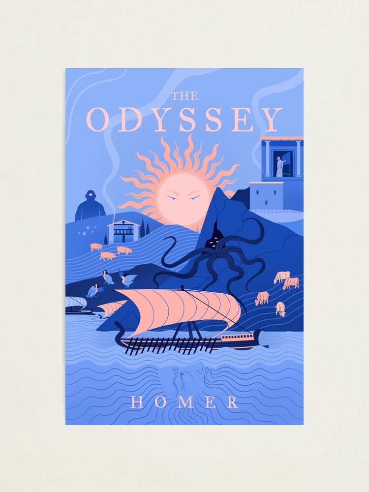Alternate view of The Odyssey Photographic Print