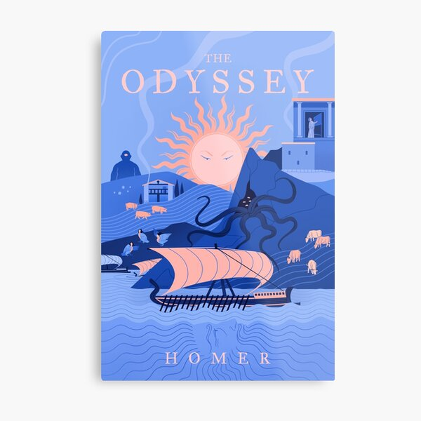 The Odyssey Metal Print