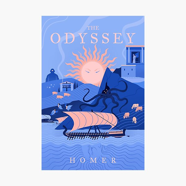 The Odyssey Photographic Print
