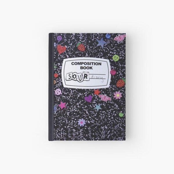Olivia Rodrigo Sour Composition Book Hardcover Journal