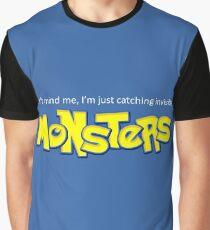Monster Pokemon Graphic T-Shirt