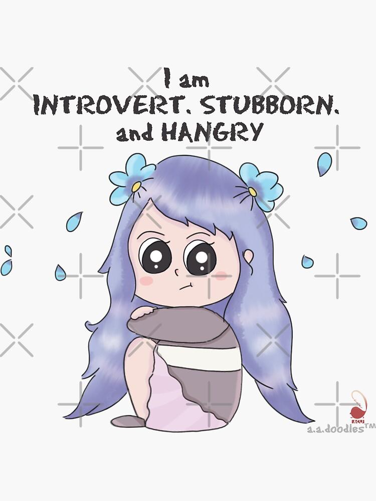 Introvert INFJ Ahiru by Aadoodles-ACU