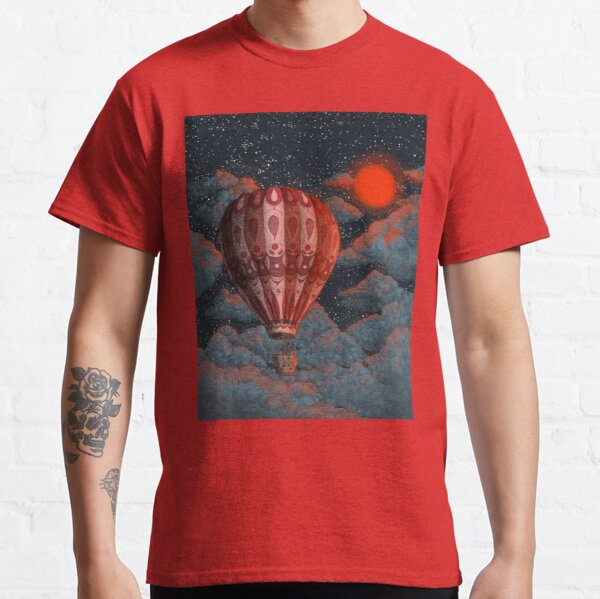 Adventure Awaits - Hot Air Balloon  Classic T-Shirt
