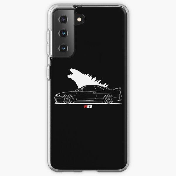 R 33 JDM Skyline Samsung Galaxy Soft Case