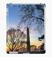 Washington D.C. (Washington Monument) at Sunset iPad Case/Skin
