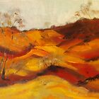The Pink Cliffs at Heathcote VIC Australia by Margaret Morgan (Watkins)