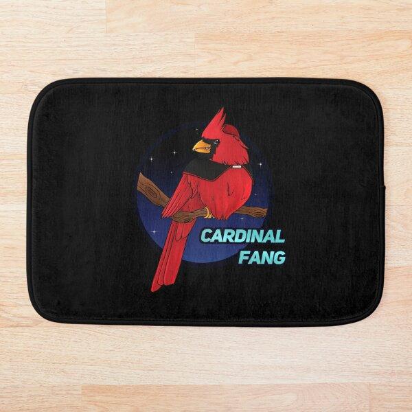 Cardinal Fang Bath Mat
