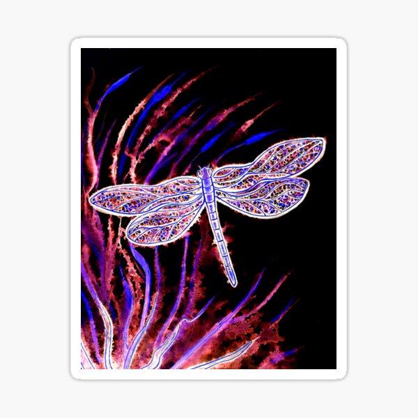 Midnight Flight Sticker