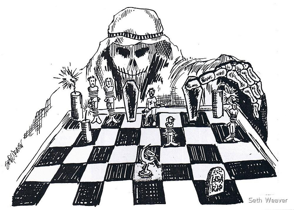 Terrorist Cartoon by Seth  Weaver
