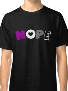 Nope (Asexual) Classic T-Shirt
