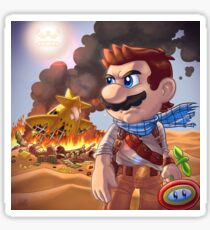 Mario X Uncharted 3 Sticker