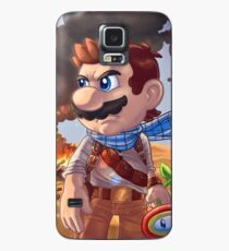 Mario X Uncharted 3 Case/Skin for Samsung Galaxy