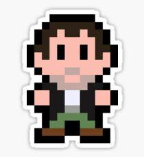Pixel Frank West Sticker
