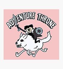 Adventure Time Parody Photographic Print