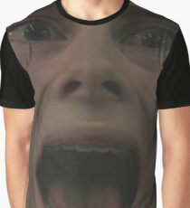 a man screams as his future is unknown Graphic T-Shirt