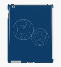 Trust me, I'm the Doctor | Circular Gallifreyan iPad Case/Skin