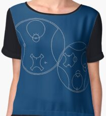 Trust me, I'm the Doctor | Circular Gallifreyan Chiffon Top