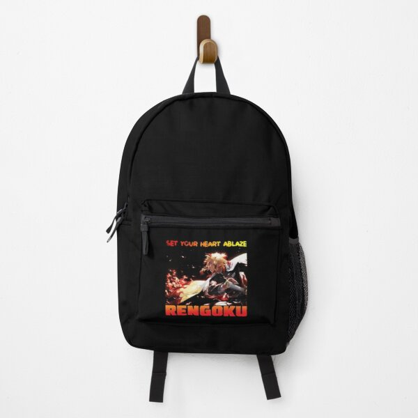 rengoku quote set your heart ablaze Backpack