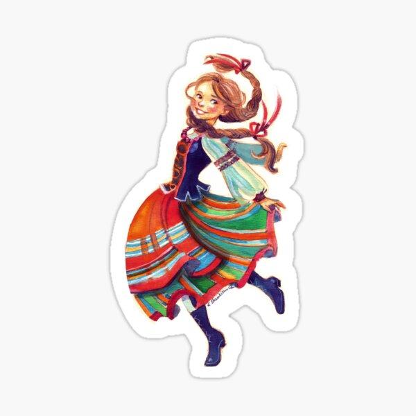 Polka  Sticker