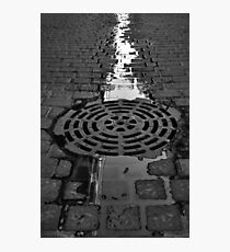 Sewer Photographic Print