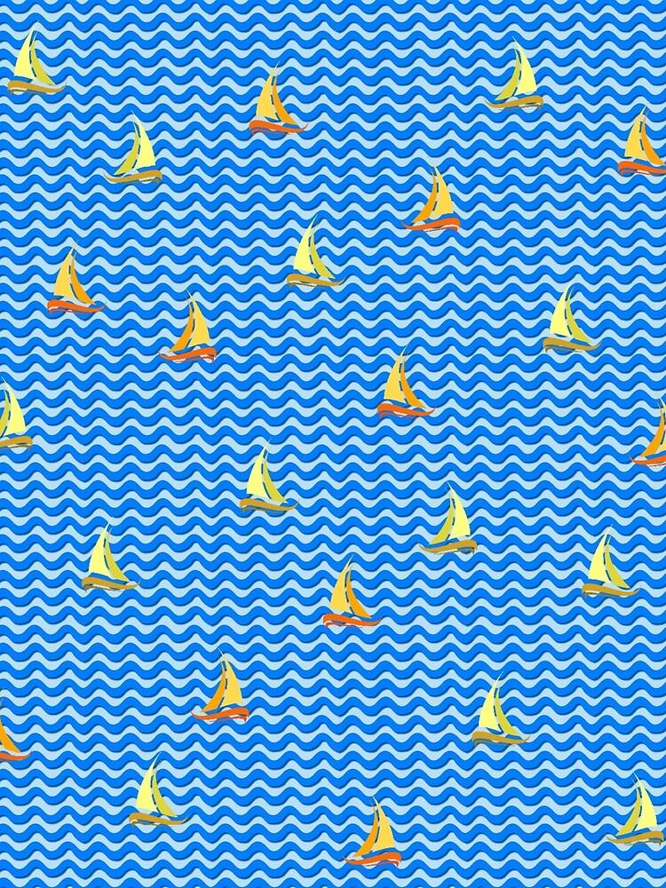 Fishing Boats 2 by vkdezine