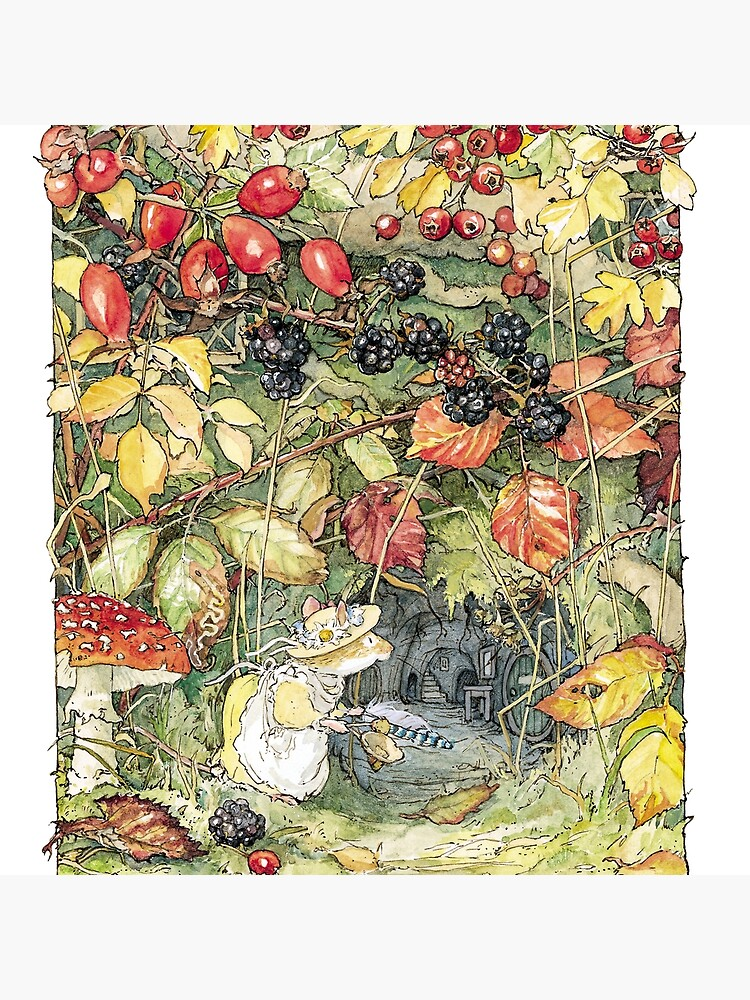 Primrose at the entrance to the tunnels by BramblyHedge