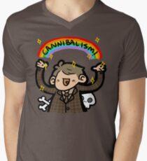 ~CANNIBALISM~ Men's V-Neck T-Shirt