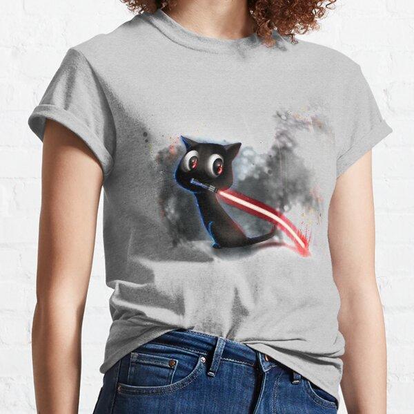 BlackKitten - Lichtschwert Classic T-Shirt