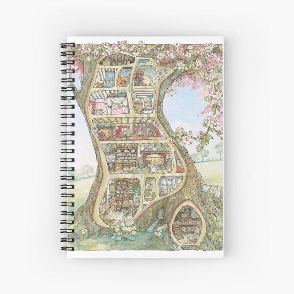 Crabapple Cottage Spiral Notebook