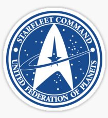 Star Trek - United Federation of Planets - logo Sticker