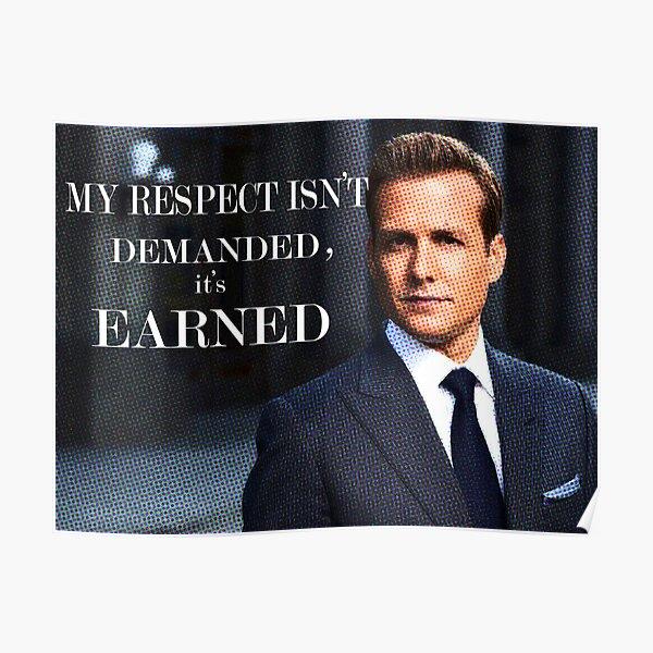 Harvey Specter - Combinaisons Poster