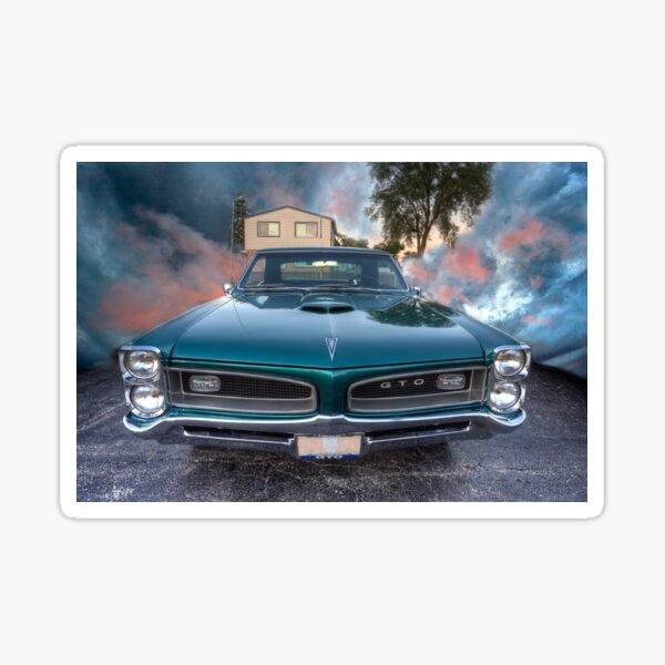 1966 GTO Pontiac Sticker
