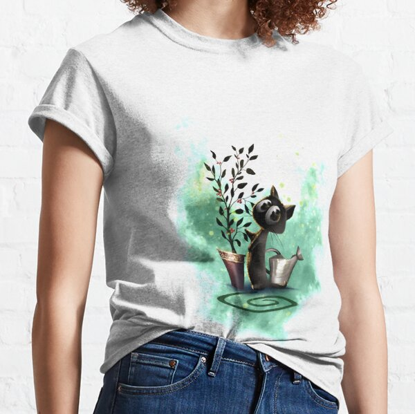 BlackKitten - wächst auf mir Classic T-Shirt