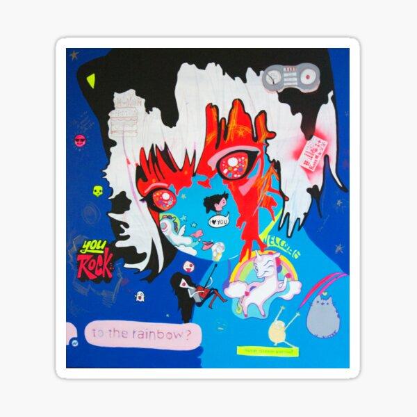#@:/&!-,$ , Osy Milian, Contemporary Cuban Art, Cuban Art Sticker