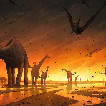 Exodus - Death of the Dinosaurs by magarlick
