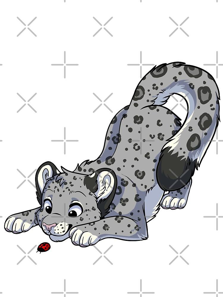Little Snow Leopard by etuix