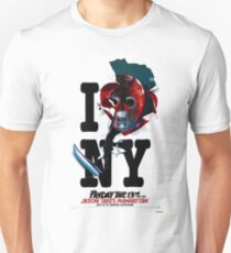Jason Takes Manhattan Unisex T-Shirt